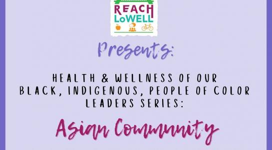 Reach LoWell BIPOC series