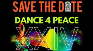 Save the Date: Dance 4 Peace XXIV