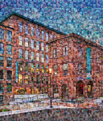 Lowell CHC staff building collage